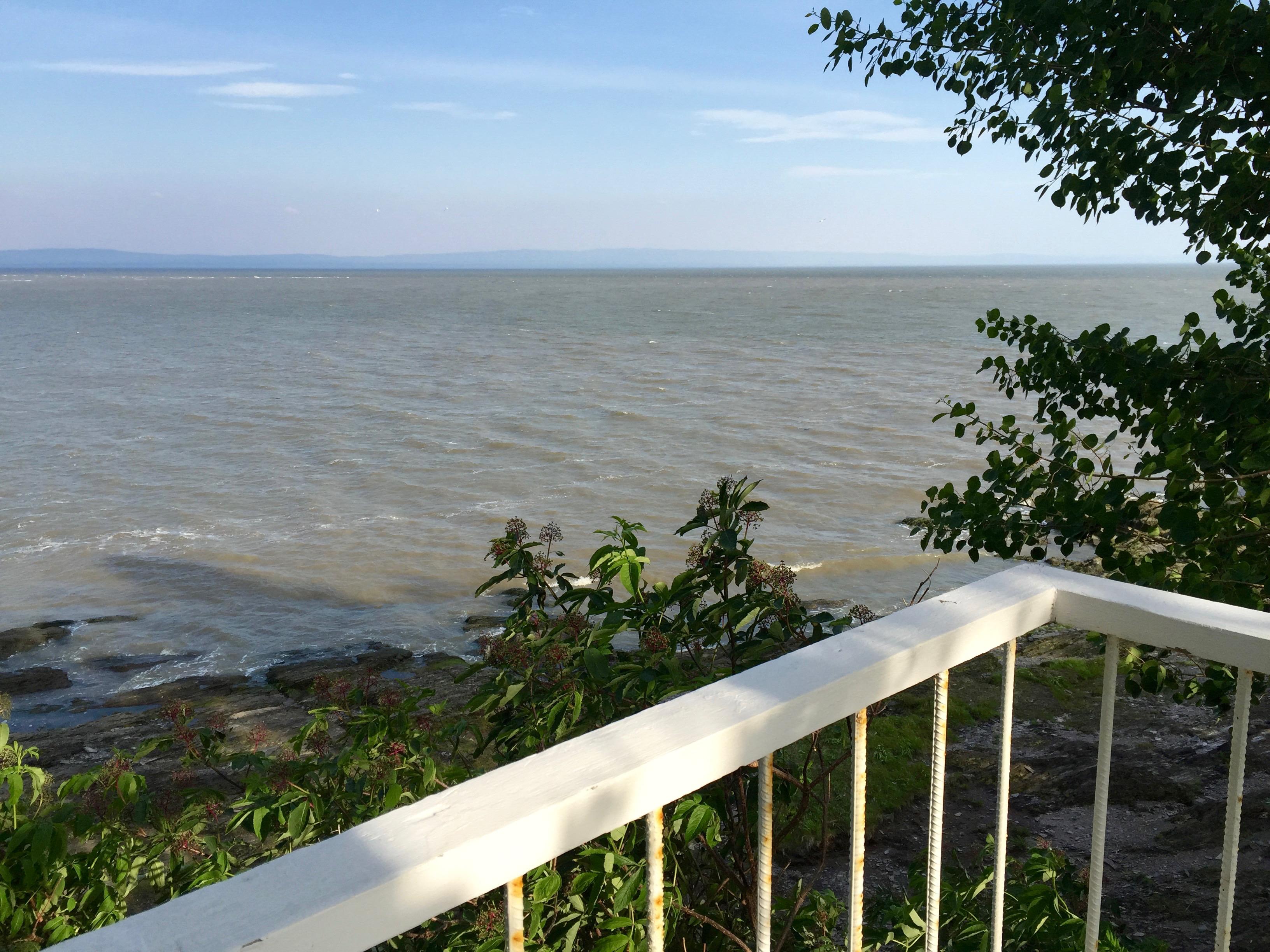Vue du balcon de l'Ancestrale
