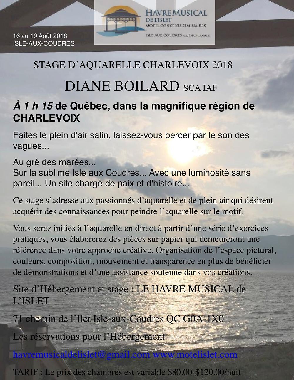 16 au 19 Août 2018