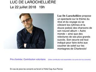 Luc de Larochellière en Bord de Mer!