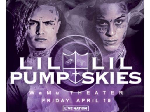 Lil Skies X Lil Pump: Seattle 4.19 —Harverd Dropout Tour
