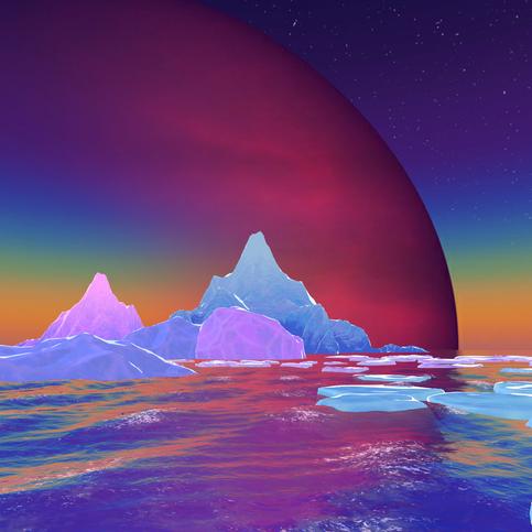 above water scene