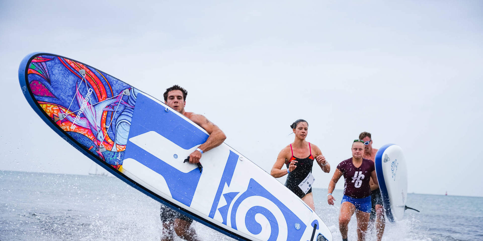 Stand Up Paddling Crossfit