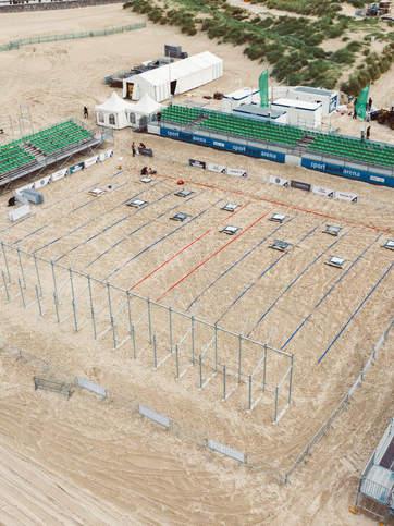Battle The Beach Arena in Rostock Crossf