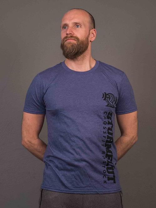 Old School Shirt - Blau