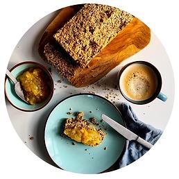notenbrood | Switchdieet | Geel