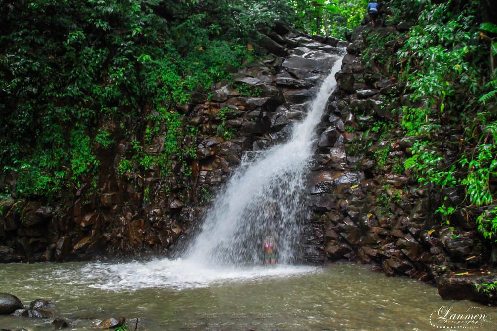 Saint Lucia Landscape Photogaphy Waterfa