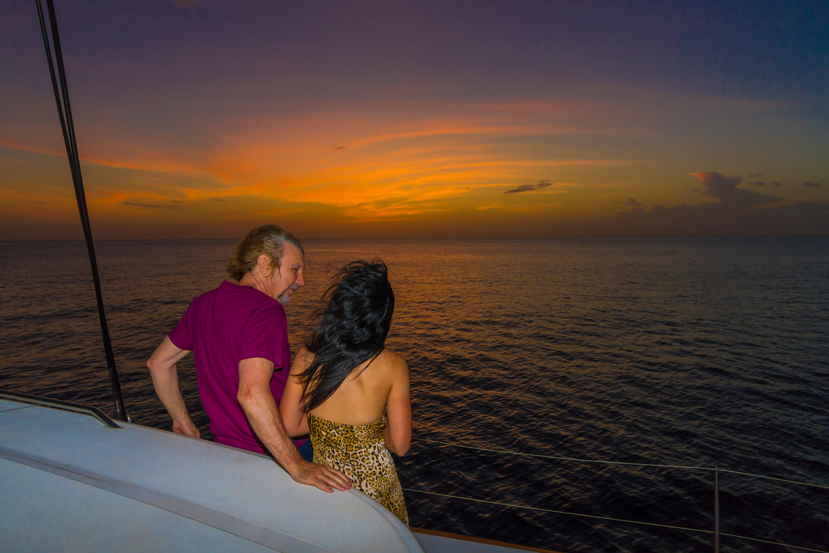 Saint Lucia Private Catamaran Engagement