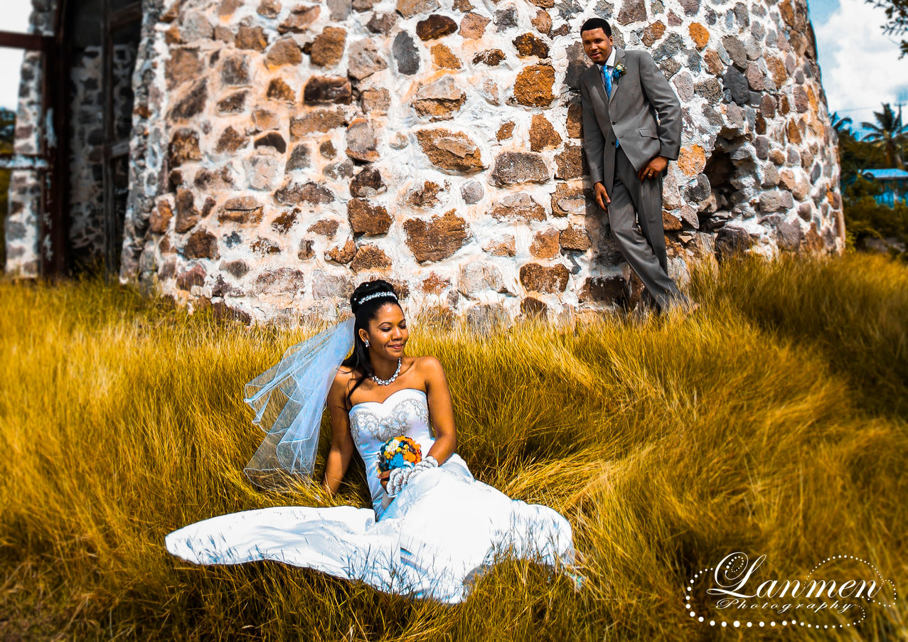 Saint-Lucia-Wedding-Photography-Old-Ruin