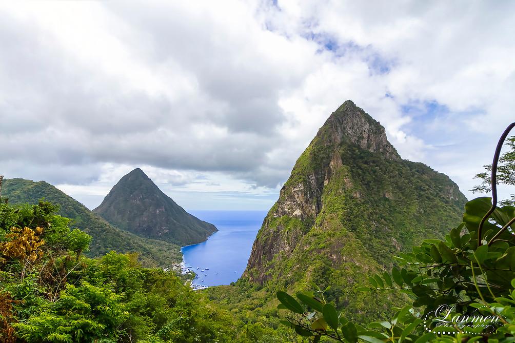 Saint Lucia Landscape Photogaphy Pitons.