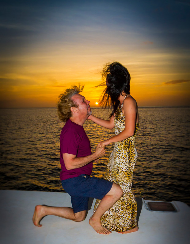 Private Catamaran Sunset Proposal