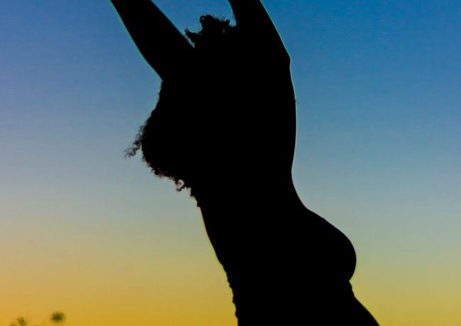Saint Lucia Maternity Shoot Nature Sunse