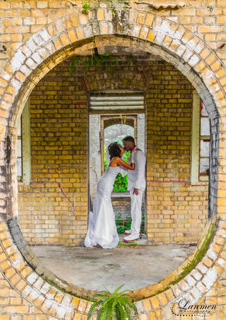Saint-Lucia-Wedding-Photography-Old-Ruin