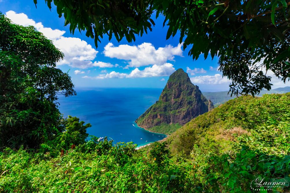 Saint Lucia Landscape Photogaphy Petit P