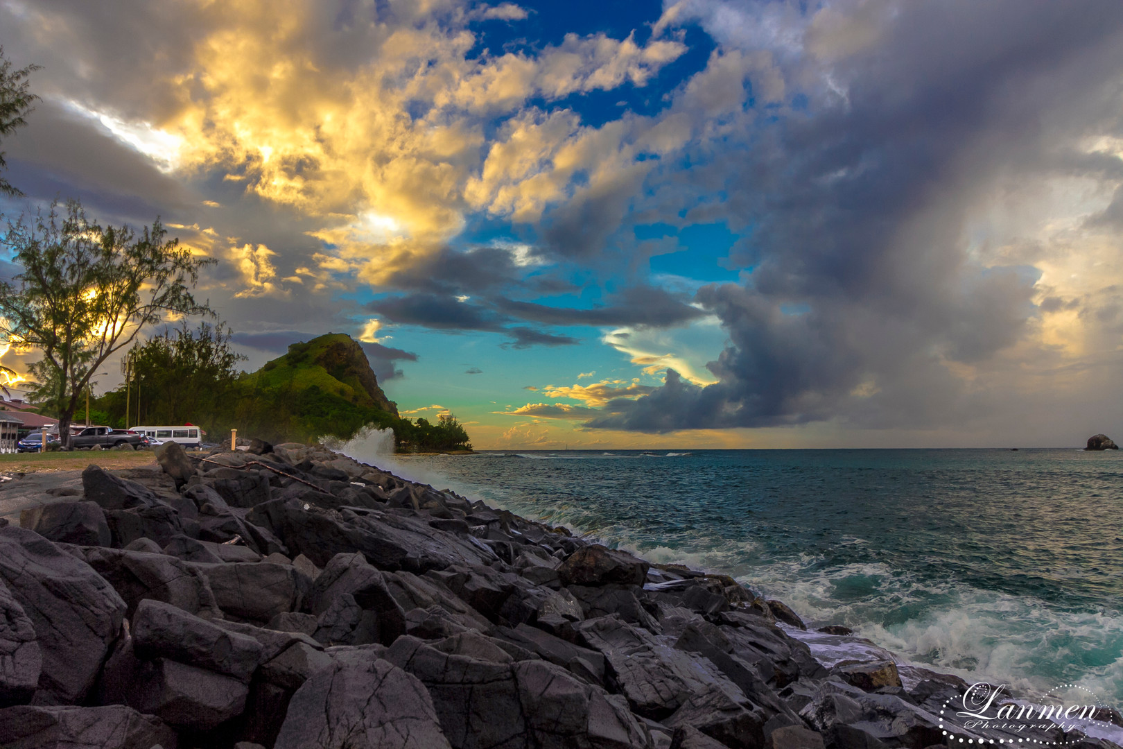 Saint Lucia Landscape Photogaphy Sandals