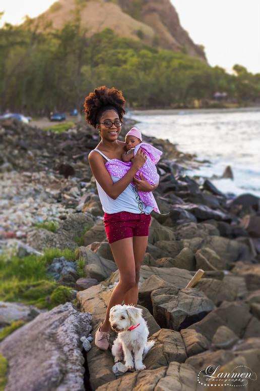 Saint Lucia Photography Family Mother Ba