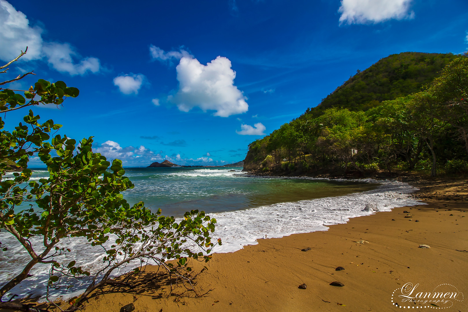 Saint Lucia Landscape Photogaphy Beach T