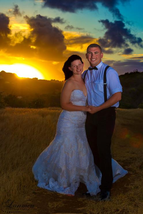 Saint-Lucia-Wedding-Photography-Sunset-C