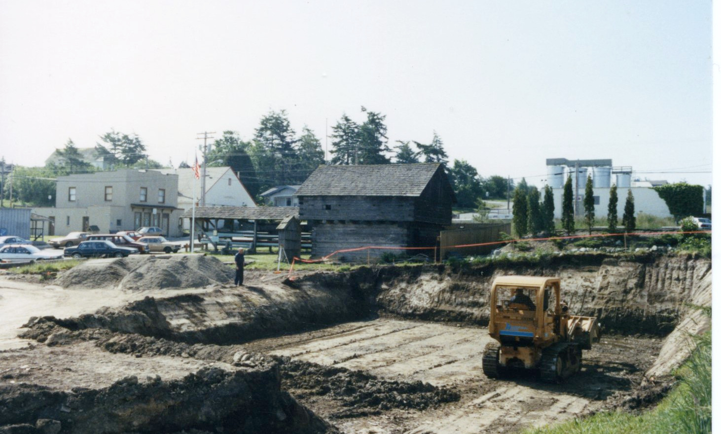 museum construction site