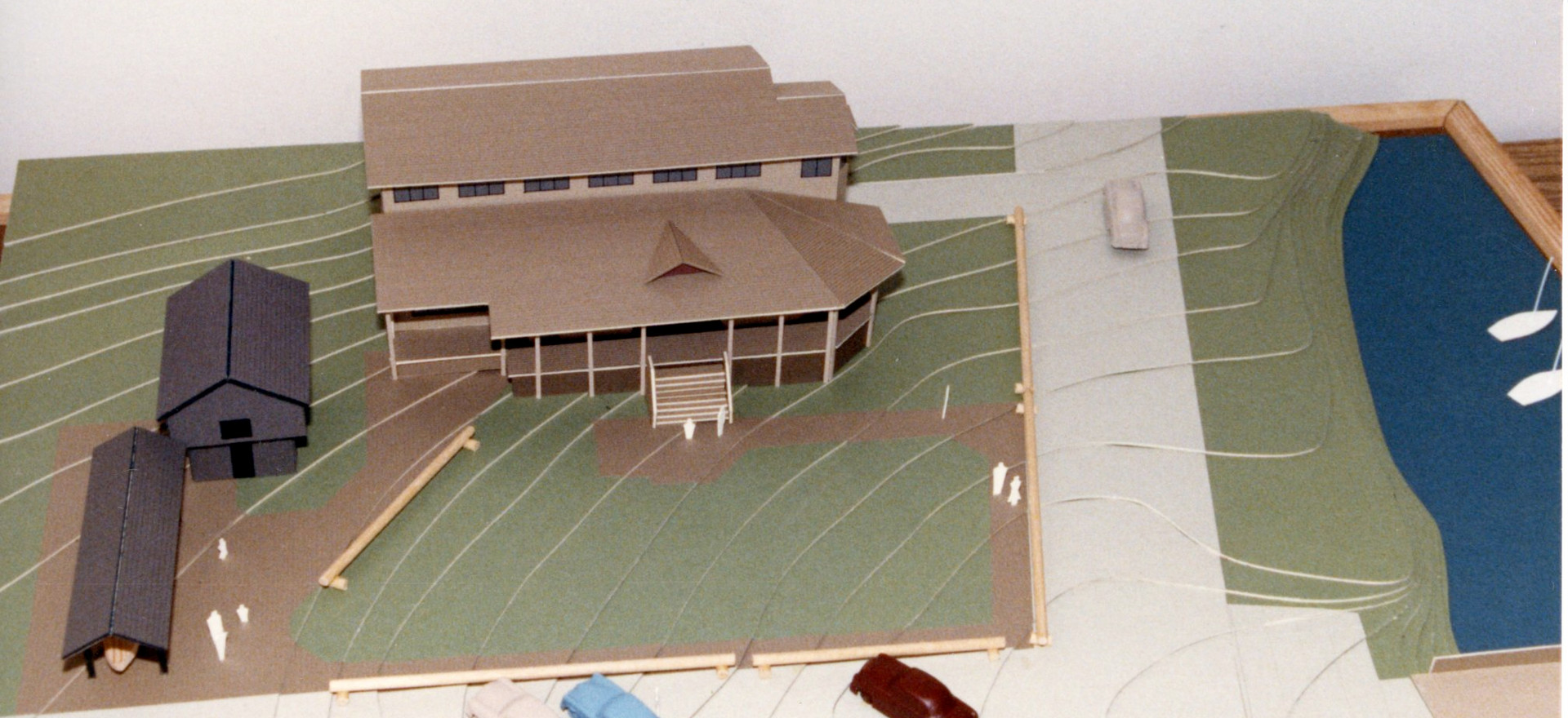 Model of the new museum