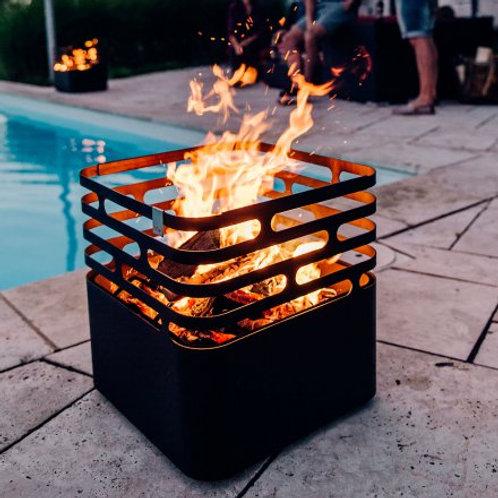 CUBE Feuerkorb | Grill | Hocker