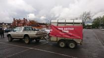 A farmer demonstration comes to Swindon