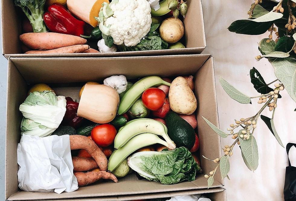Fruit & Vegetable + Eggs Box - Delivered