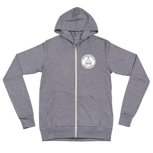 CO Mountains Unisex zip hoodie