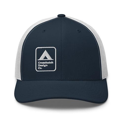 Tent Camping Sign Trucker Cap
