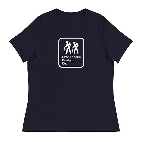 Hiking Sign Women's Relaxed T-Shirt