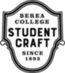 Berea-College-Student-Craft-1C-black-log