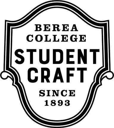 Berea-College-Student-Craft-1C-black-log