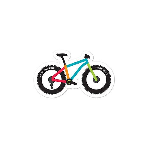 Mountain Bike Bubble-free stickers