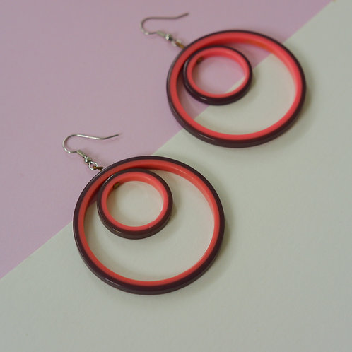 70s Swivel Hoops
