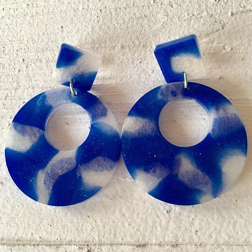 Blue Cloud Earrings