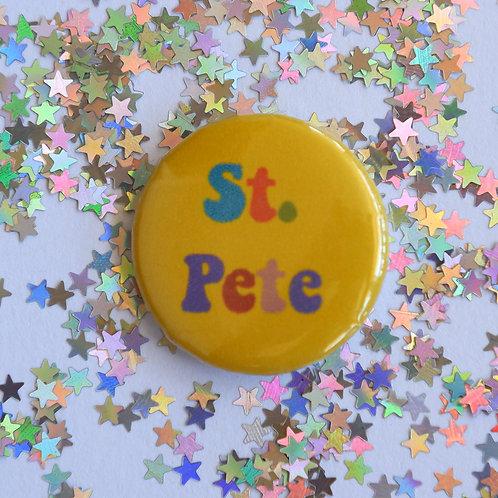 St. Pete Button