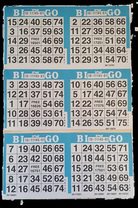 American Bingo 6on