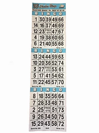 American Bingo 3on Singles