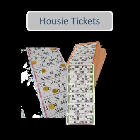 Housie Tickets