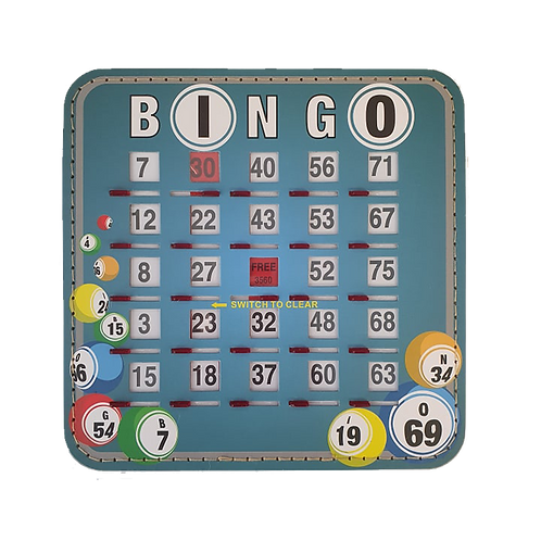 American Bingo Shutter Boards