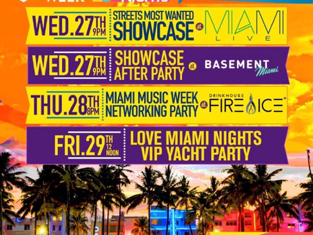 2nd annual Miami Music Week Streets Most Wanted Tour