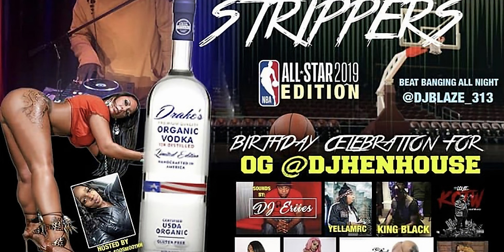 Spitter & Strippers every Sunday ( Detroit )