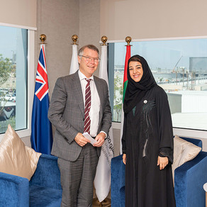 Minister Parker Visits Expo 2020 Site