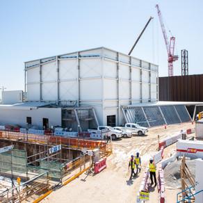 New Zealand Pavilion Construction Update