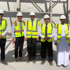 Minister Peters Visits Expo 2020 Site