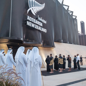 Emirati Officials and Māori Leaders Perform Dawn Ceremony to Dedicate New Zealand Pavilion