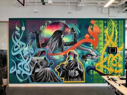 Spotify Arabia HQ Mural