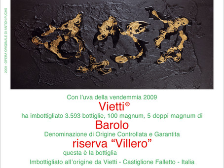 100 Parker Punkte für Barolo Riserva Villero 2009 von Vietti