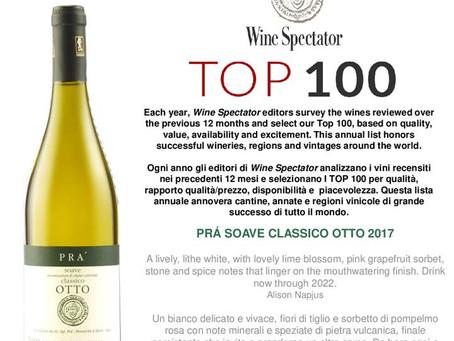 Soave OTTO von PRA wieder unter den 100 besten Weinen der Welt