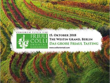 Großes Friaul Tasting in Berlin - Tasting  Booklet ist online!