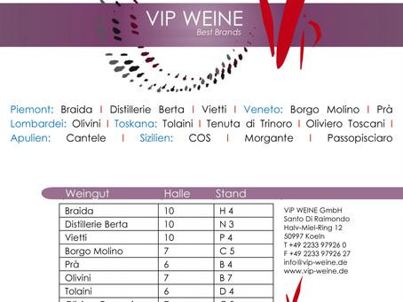 VIP Weingüter auf der Vinitaly 2016